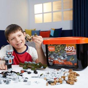 Mega Construx 拼搭积木大盒装,含480颗粒
