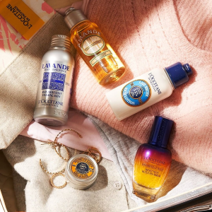 20% offwith Body Moisturizers purchase @ L'Occitane