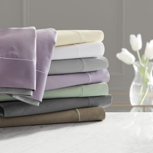 Hotel Style Egyptian Cotton 1000 Thread Count Lavendar Elegance King Pillowcase