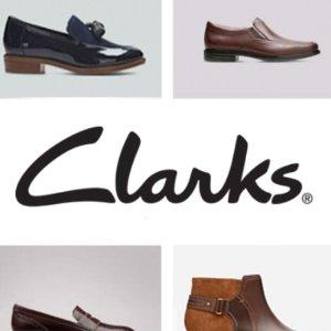 最高立减$40 舒适又百搭Clarks 全场正价新款鞋履鞋卖