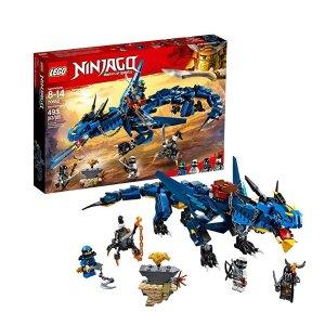 $24.84(原价$39.99)+满$50立减$10史低价:LEGO NINJAGO 系列 雷电暴风神龙 70652