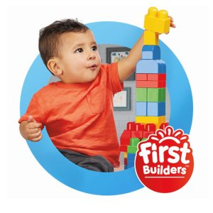 低至4.8折  $9.97起史低价:Mega Bloks 儿童益智积木拼搭玩具