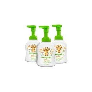 Amazon.com: Babyganics Alcohol-Free Foaming Hand Sanitizer, Mandarin, 8.45oz Pump Bottle (Pack of 3): Baby