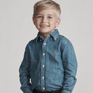 40% Off +Extra 10% OffLast Day: Ralph Lauren Kids Items Sale