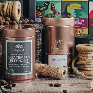 新用户无门槛8.5折独家:Whittard 礼盒专场 英式茶、热巧、咖啡 高颜值伴手礼佳品