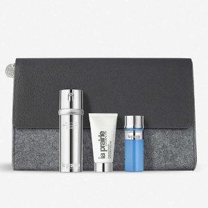 $375 含正装精华(单瓶售价$445)La Prairie Anti-Aging Essentials抗衰基础套装