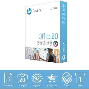 $4.99 (原价$11.08)HP 惠普多用途复印打印纸500页 8.5X11