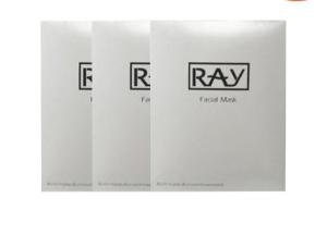 12.12限时抢购低至¥136.5RAY 银色面膜 10片*3盒 可防伪查验