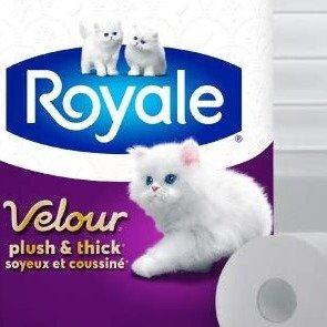 $7.4(原价$11.23)Royale Velour 双层卫生纸 18大卷  相当于36卷