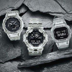低至3折Casio G系列男女款运动腕表