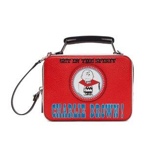 仅$261(原价$870)冰点价:Marc Jacobs 史努比联名款 盒子包 变相3折