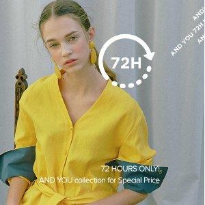 低至3.4折 衣柜大换新W Concept 精选美衣、美裙快闪促销 时装博主同款