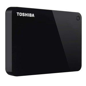 $79.99(原价$102.27)Toshiba 东芝 Canvio Advance 2TB USB3.0 移动硬盘 可加密