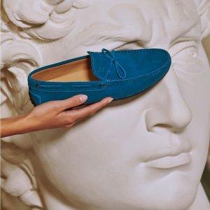 2折起!多款乐福鞋参与!Tod's 时尚专区 经典豆豆乐福鞋、包包上新 时尚博主人手一双