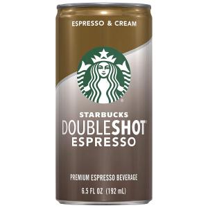 $15.18Starbucks Doubleshot, Espresso + Cream, 6.5 Fluid Ounce, Pack of 12