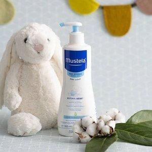 $17(原价$23.99)Mustela 妙思乐宝宝2合1洗发沐浴露 温和清洁 无泪配方
