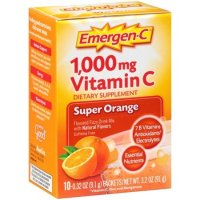 Emergen-c 1000mg 维生素C 橘子味 10包