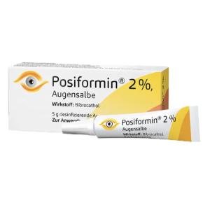 折后€11.13在德国得了麦粒肿怎么办?Posiformin 2%铋溴酚眼膏