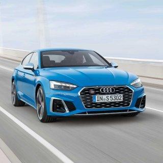 四舍五入也有十款了2020 Audi A5 双门/四门奥迪轿跑小改款