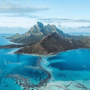 As low as $890 on UnitedWashington DC to Tahiti French Polynesia Round-Trip Airfare Saving