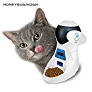 HoneyGuaridan A25 Automatic Pet Feeder with Voice Reminding and Timer Programmable
