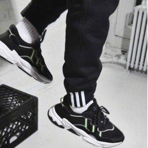 6折优惠+无门槛包邮adidas官网 四字弟弟同款OZWEEGO潮流运动鞋限时促销