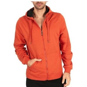 $13.99($39.99)+Free ShippingMen's Basic Fleece-Lined Full Zip Hoodie @ Proozy