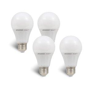$11.50SYLVANIA 74768 Smart LED Light Bulb (4-Pack), 60W Equivalent A19