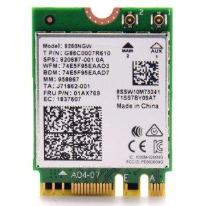 Intel Wireless AC 9260 2x2 MU-MIMO 无线网卡 无vPro