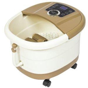 Dealmoon Exclusive! $49.99 11.11 Exclusive: Portable Foot Spa Bath Massager - Tan