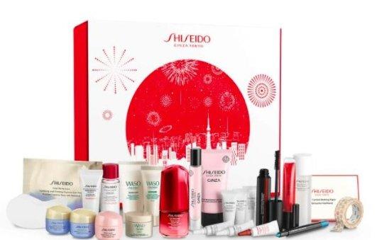Shiseido 2021圣诞日历变相3.3折Shiseido 2021圣诞日历变相3.3折