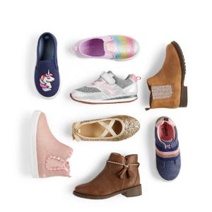Up to 50% Off + Extra 20% Off $50OshKosh BGosh Shoes & Boots Sale