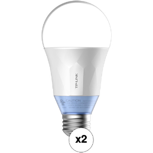 TP-Link LB120 Wi-Fi Smart LED Bulb 2-Pack