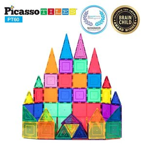 As Low As $19.99 PicassoTiles Magnet Building Tiles & More @ Amazon