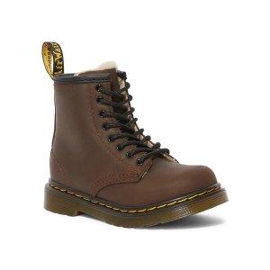 Dr. Martens满$175减$25Kid's 1460 儿童毛绒靴