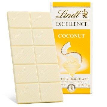 Excellence 椰子白巧克力板 3.5oz