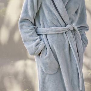 无门槛6折 丝绸睡裙$78限今天:Sheridan 浴袍、真丝眼罩闪促 大肠发圈$24/2个