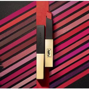 满£50赠豪华中样+化妆包YSL新品上架 小金条、水光唇釉、限量口红全都有