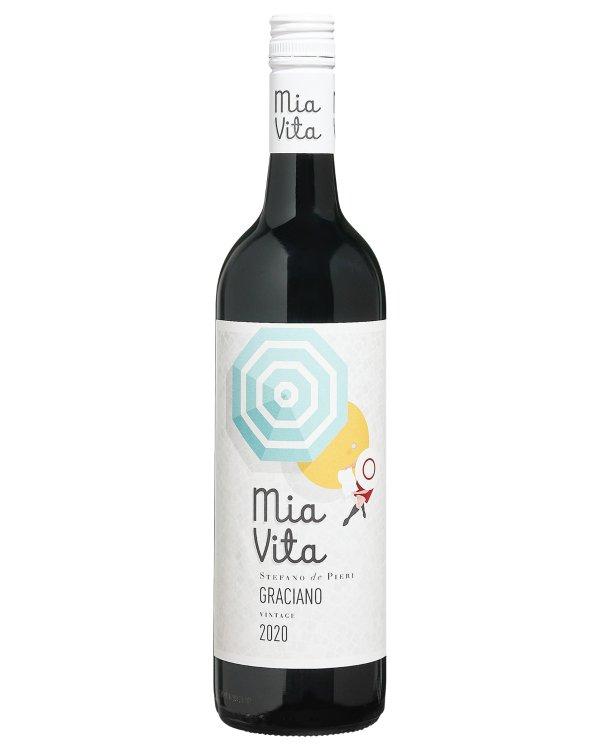 格拉西亚诺干红葡萄酒 2020