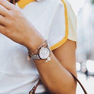 7.5折Fossil 全场手表、包包、配饰等促销