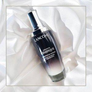 Lancome明显改善皮肤光泽度,有效减少细纹!小黑瓶精华 30ml