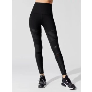 alo yoga女士高腰运动长裤
