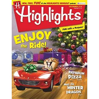 $29.99Highlights 儿童益智杂志一年12期订阅