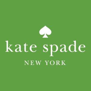 低至2.5折+免邮 收黑桃水桶包最后一天:Kate Spade官网 惊喜特卖 精选包包配饰限时特价