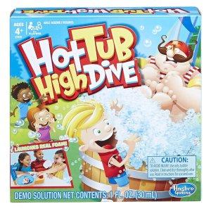 $3.74包邮 Party必备孩之宝 跳水泡泡桌面游戏组合