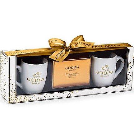 冬季热可可精装礼盒(2只茶杯+可可粉)