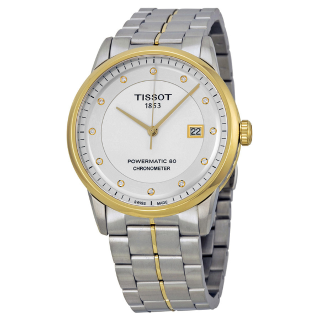 Extra $60 OffTISSOT Luxury Automatic Silver Dial Men's Watch