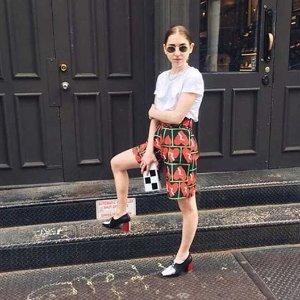 Nina Hauzer 拼色高跟鞋