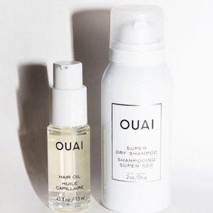 限时57折 €15收超模同款OUAI 干法免洗喷雾 神器三天不洗头 头发依旧不会油