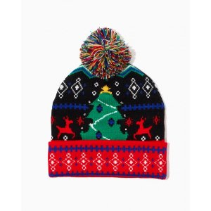 $20 Off Over $40Festive Christmas Pom Beanie